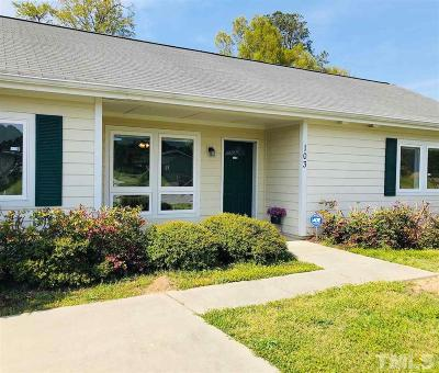 Sanford NC Single Family Home For Sale: $160,000