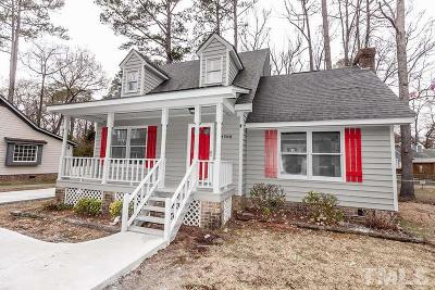 Rocky Mount NC Single Family Home For Sale: $169,900