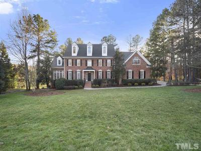 Raleigh Single Family Home Contingent: 5225 Oxalis Drive