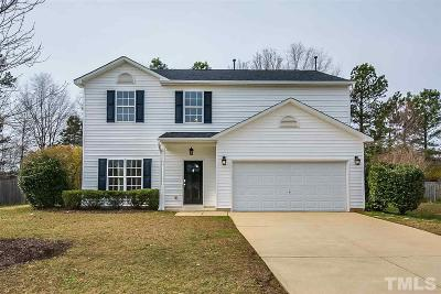 Holly Springs Single Family Home For Sale: 212 Mizelle Meadow Court