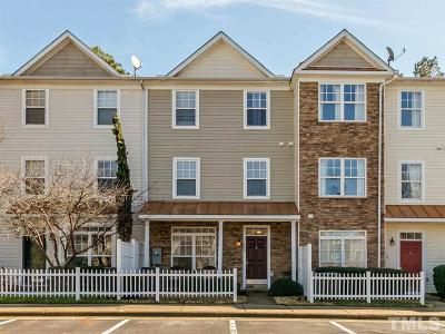 Raleigh Townhouse For Sale: 11710 Mezzanine Drive #102