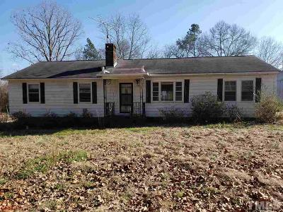 Sanford NC Single Family Home For Sale: $89,900