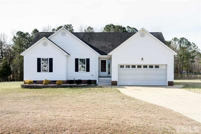Willow Spring(s) (121) Single Family Home For Sale: 112 Deer View Drive