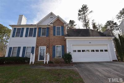 Cary Single Family Home For Sale: 101 Amberglow Place