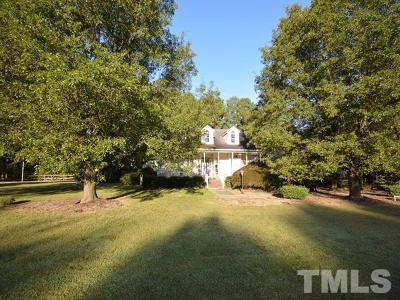 Chapel Hill Single Family Home For Sale: 25 Polks Landing Road