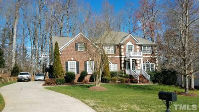 Hillsborough Single Family Home For Sale: 639 Churton Grove Boulevard