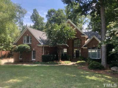 The Preserve At Jordan Lake Single Family Home For Sale: 541 The Preserve Trail
