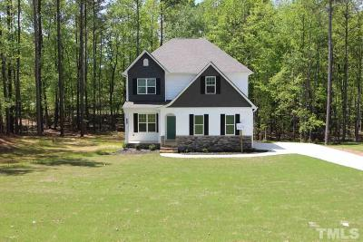 Granville County Single Family Home Pending: 1261 Silky Willow Drive