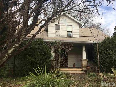 Orange County Single Family Home For Sale: 612 N Greensboro Street