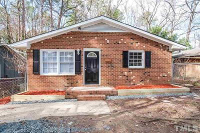 Durham Single Family Home For Sale: 2316 Fitzgerald Avenue