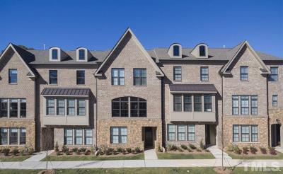 Raleigh Townhouse For Sale: 5805 Abingdon Ridge Place