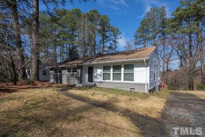 Wake County Single Family Home For Sale: 705 Barksdale Drive