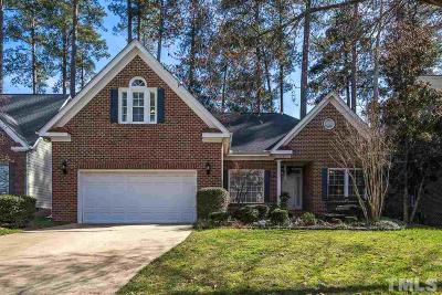 Wake County Single Family Home For Sale: 106 Hampton Pines Drive