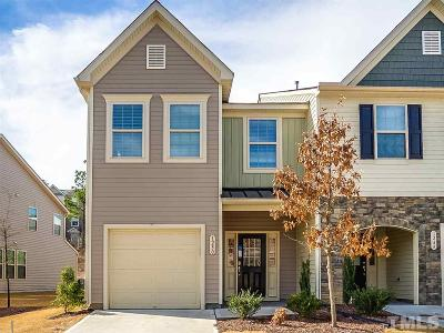 Wake County Townhouse For Sale: 1250 Garden Stone Drive