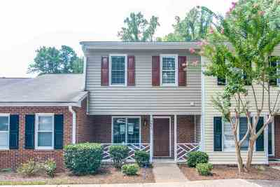 Raleigh Townhouse For Sale: 4662 Fawnbrook Circle