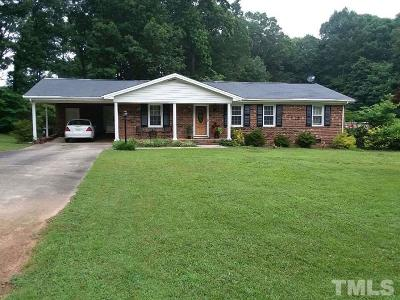 Chatham County Single Family Home For Sale: 418 W 10th Street