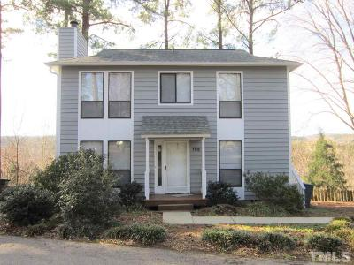 Carrboro Single Family Home Pending: 108 Walden Drive