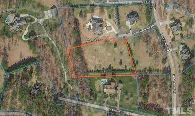 Wake County Residential Lots & Land For Sale: 1505 Sweet Meadow Lane