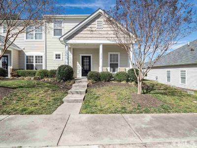 Raleigh Townhouse For Sale: 2715 Willow Pines Place