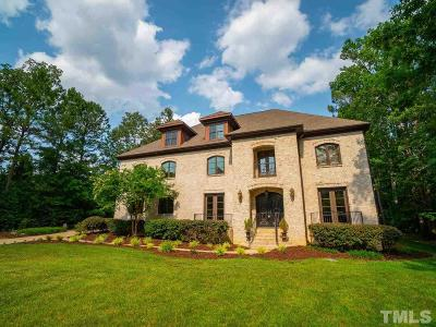 Raleigh Single Family Home For Sale: 3817 Sparrow Pond Lane