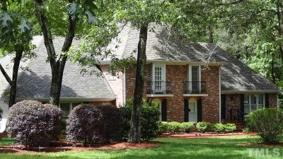 Raleigh Single Family Home For Sale: 701 Lanham Place