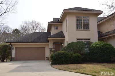 Chatham County Townhouse For Sale: 96206 Carteret