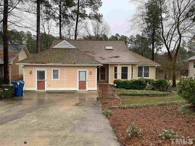 Durham NC Single Family Home Contingent: $375,000
