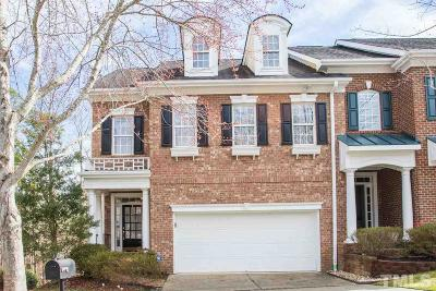 Raleigh Townhouse For Sale: 7248 Summit Waters Lane