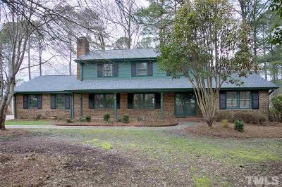 Cary Single Family Home For Sale: 207 Briarcliff Lane