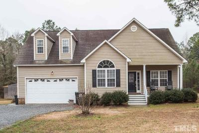 Johnston County Single Family Home For Sale: 492 Tomahawk Drive