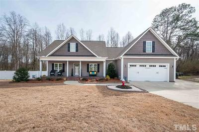 Angier Single Family Home For Sale: 174 Blessed Lane