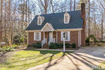 Wake County Single Family Home For Sale: 1210 Indian Trail
