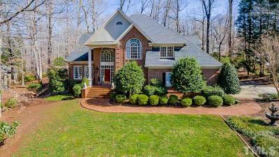 Cary Single Family Home For Sale: 100 Fern Bluff Way