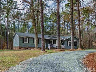 Chatham County Single Family Home For Sale: 2622 Meronies Church Road