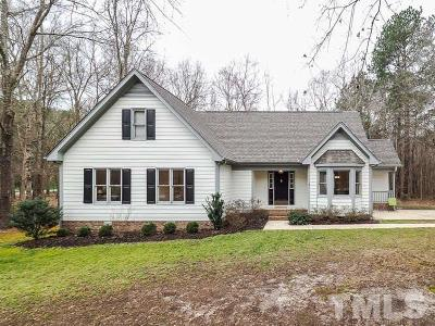 Raleigh Single Family Home For Sale: 1912 Carl Williamson Road