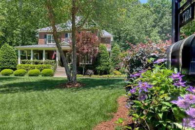 Wake County Single Family Home For Sale: 3724 Grandbridge Drive