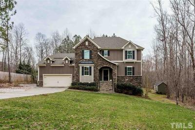 Wake Forest Single Family Home For Sale: 6301 Mountain Oaks Way