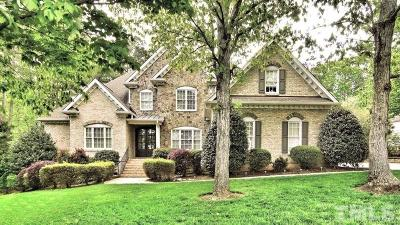 Wake Forest Single Family Home For Sale: 1036 Hawk Hollow Lane