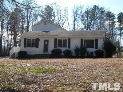 Holly Springs Single Family Home For Sale: 4008 Lassiter Road
