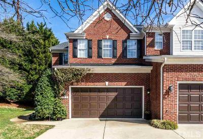 Morrisville Townhouse For Sale: 155 Grande Drive