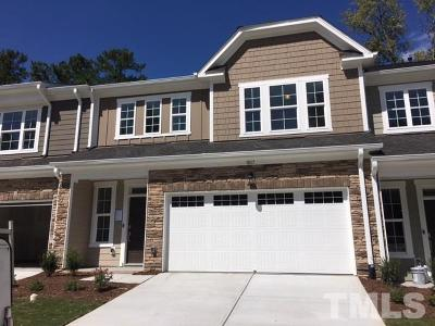 Cary Townhouse For Sale: 1017 Hero Place #07
