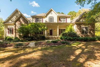 Apex Single Family Home For Sale: 68 Songbird Court