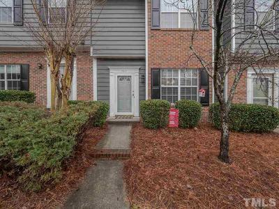 Raleigh Townhouse For Sale: 4414 Still Pines Drive