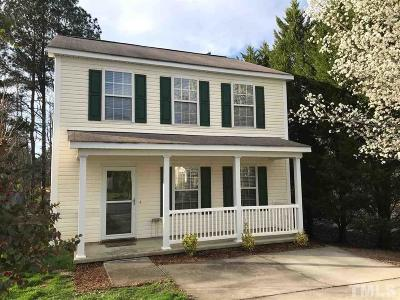 Apex Single Family Home For Sale: 812 Homestead Park Drive