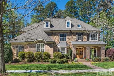 Raleigh Single Family Home For Sale: 3215 Rain Forrest Way