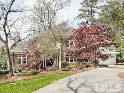 Raleigh Single Family Home For Sale: 1914 Lewis Circle