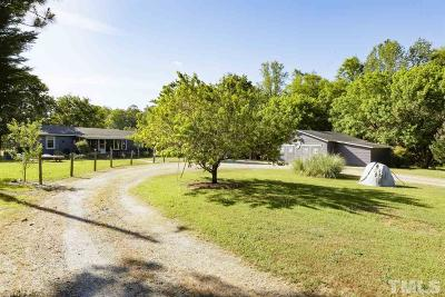 Dunn Single Family Home Contingent: 1481 Phillips Road