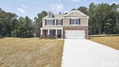 Creedmoor Single Family Home For Sale: 2700 Spring Valley Drive