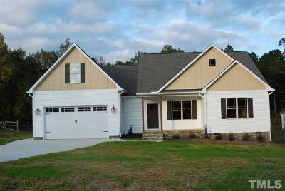 Lillington Single Family Home For Sale: 321 Rocky Run Lane