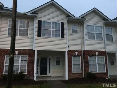 Raleigh Townhouse Contingent: 1804 Eagle Beach Court